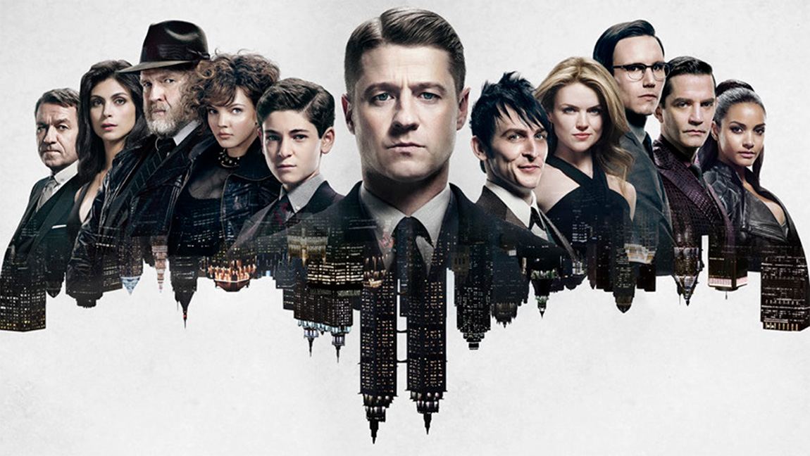 Séries super héros séries garçons masculines à regarder en couple - Gotham Batman Bat man blog séries