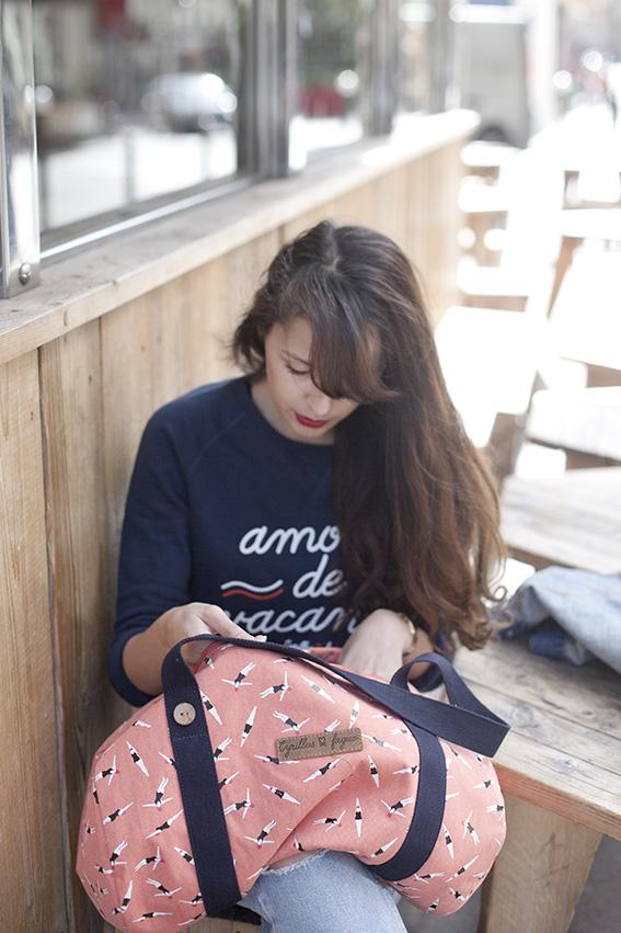 Blogueuse mode Paris tendance été 2016 - Sac bowling cyrillus Faguo 1 pièce 10 styles