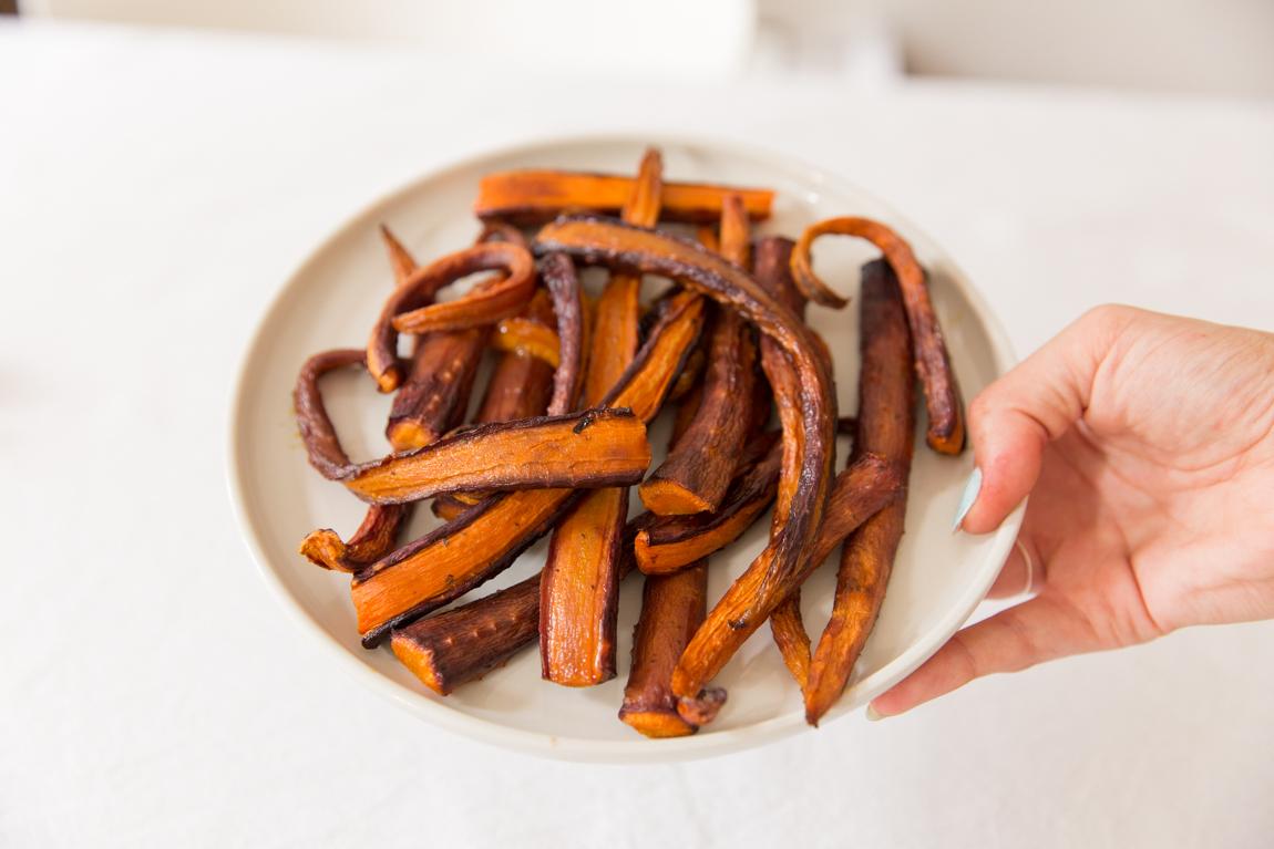 Carottes violettes rôties au four recette blog cuisine