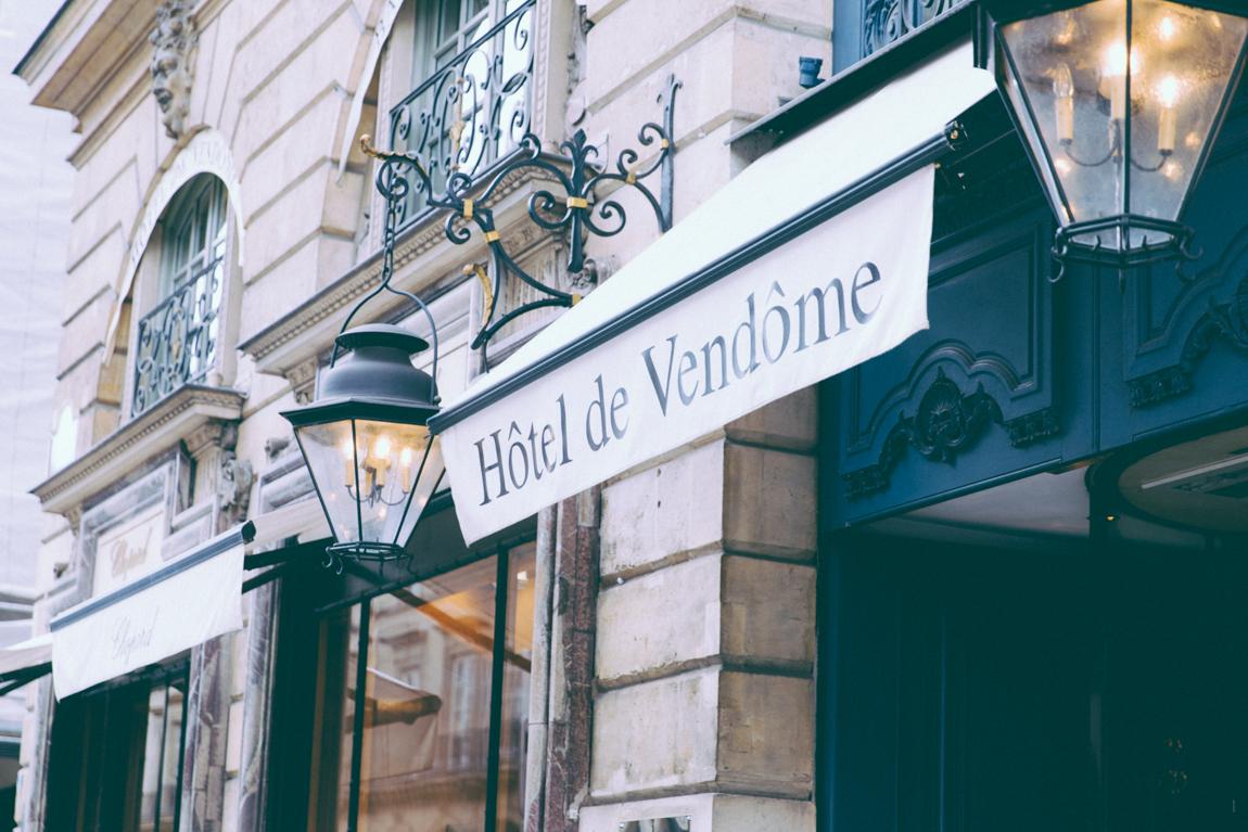 Paris Summer Time 2016 Comité du faubourg saint-honoré nuit à l'hôtel Vendôme - luxe blog mode Paris