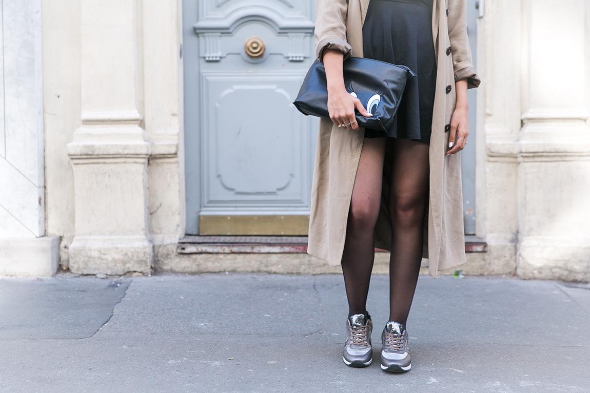 Look blog mode paris 1P10 style baskets Gémo défi tenue automne 2016