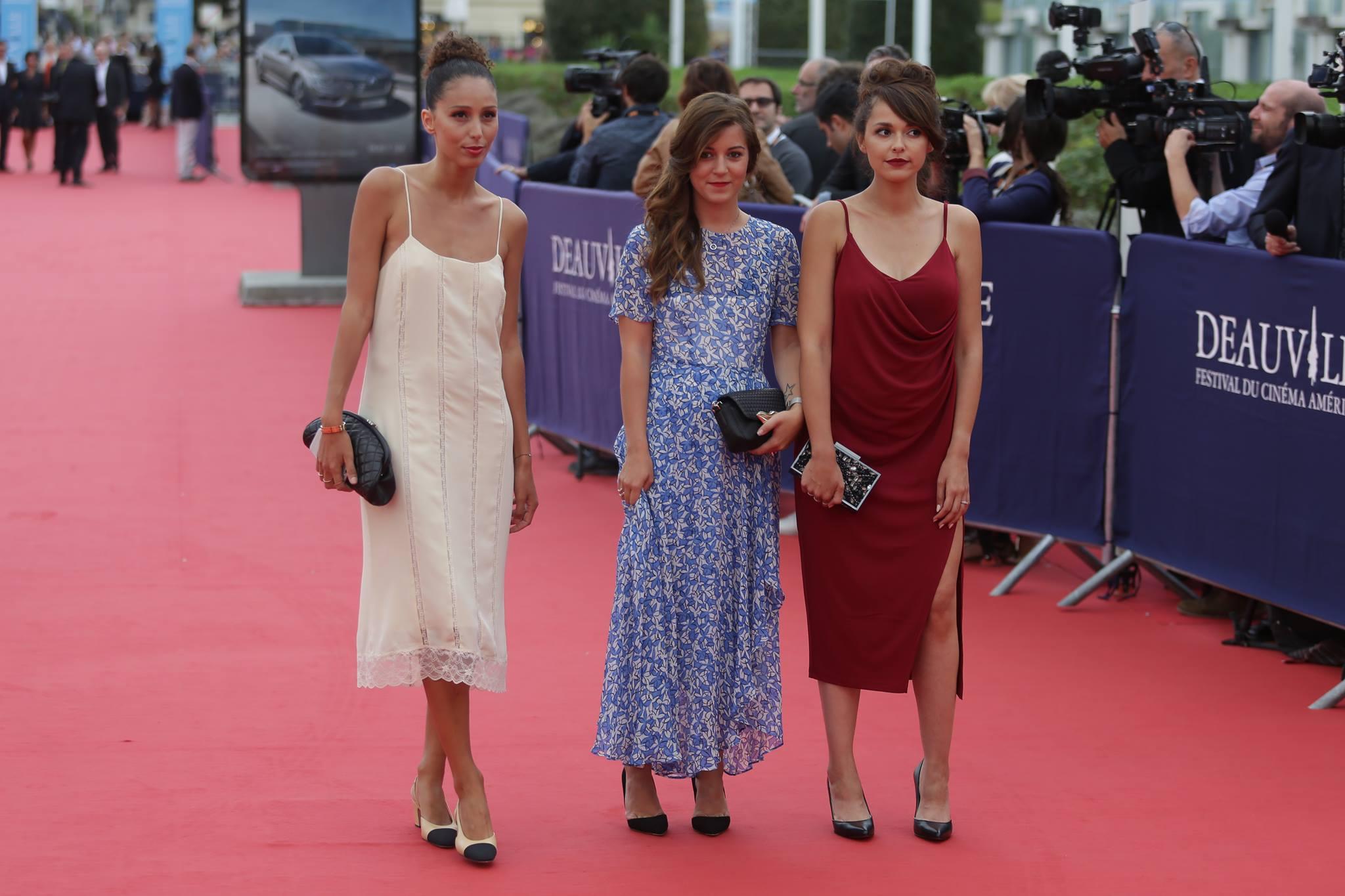Blogueuse mode festival du film américain de Deauville 2016 avec Dessange  tapis rouge