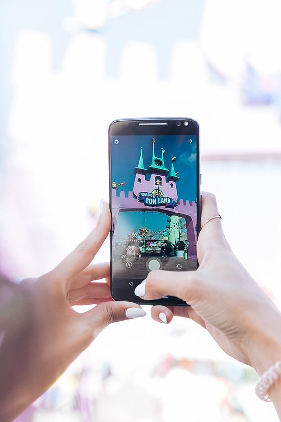 Monde des simpsons donut géant Visite de Universal Studio à Los Angeles conseils blog français. Les meilleures attractions de Universal Studio - visiter la californie