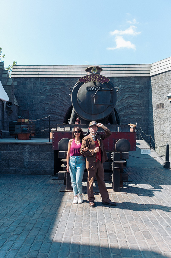 Attraction Harry Potter PArc Universal Studio Los Angeles