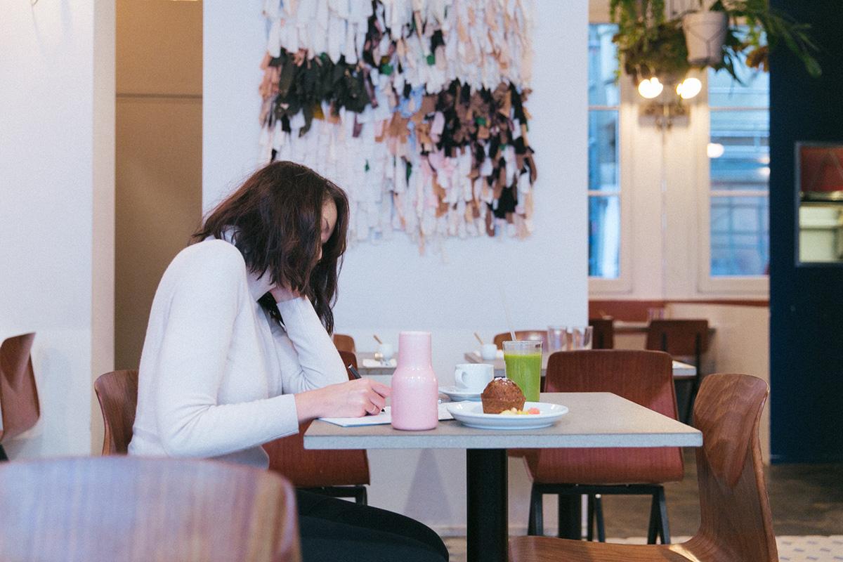 stylo à plume waterman collaboration photographie shooting lifestyle blogueuse paris mise en scène - Super nature restaurant