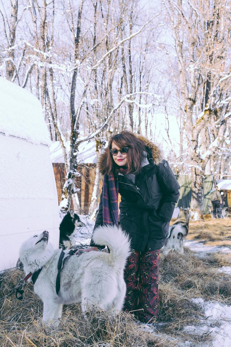 Stations de ski Les Sybelles séjour à la montagne en famille, entre amis en couple en Savoir station bon rapport qualité prix Saint Sorlin ballade en chiens de traineaux