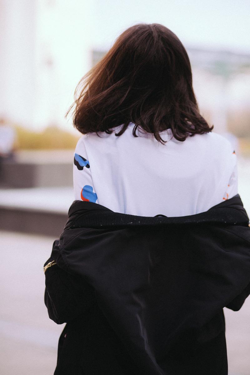 Ariel dosettes 3 en 1 PODS collaboration blogueuse mode Paris - comment porter la jupe tupe ? Comment porter le bombre loose - look féminin sportif décontracté blog mode lifestyle