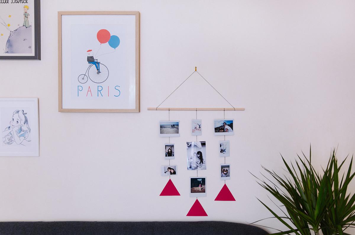 Portant à photo à fabriquer soi même minimaliste DIY