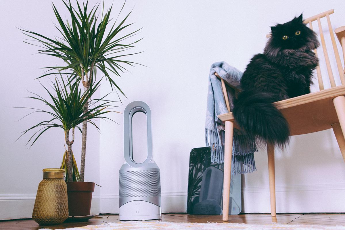 Purificateur d'air Dyson Hot Cold Link + ventilateur et chauffage test blog influenceur qualité des produits dyson avis
