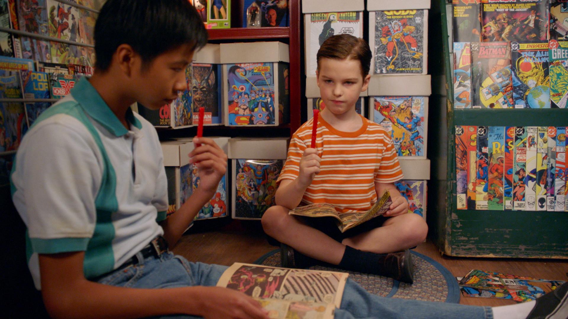Young Sheldon  meilleures séries à voir en 2018 série comique spin off de The Big Bang Theorie Sheldon cooper - série à regarder cet été