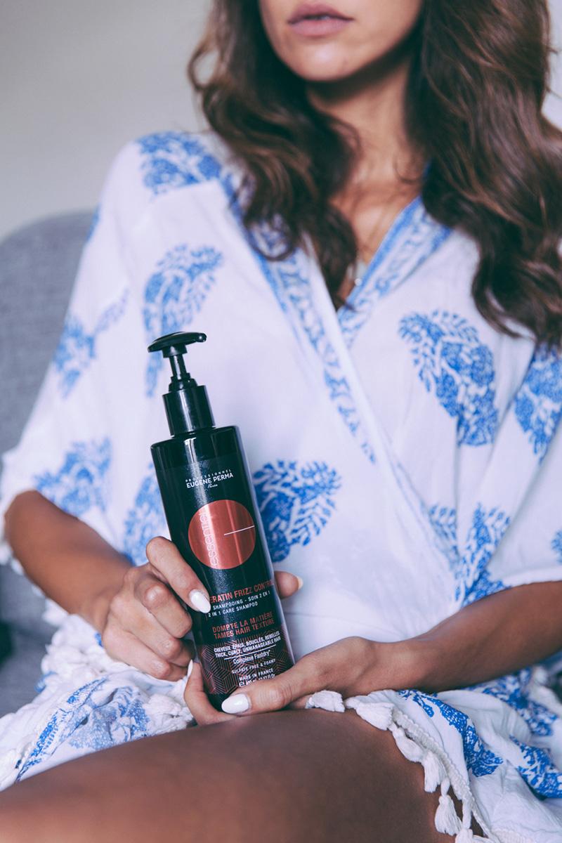 Gamme Frizz Control EUGENE PERMA Professionnel Soins kératine végétale cheveux blog paris dollyjessy jolie collaboration blogueuse