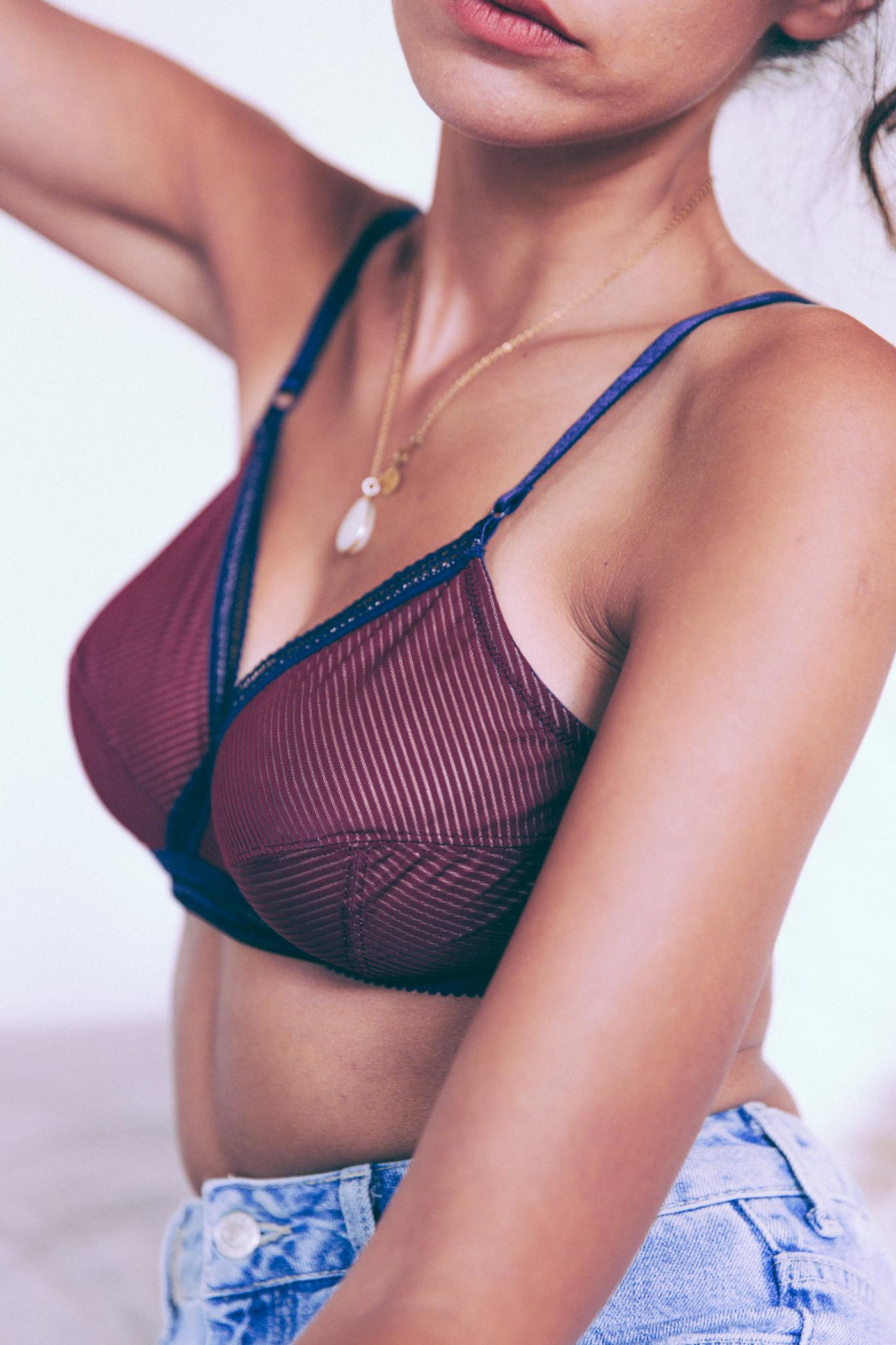 Playtex collection 2018 Zoe Felic Sporty chic et smoking chic - blogueuse mode parisienne - modèle lingerie collaboration - blog mode lingerie humeur cuisine lifestyle