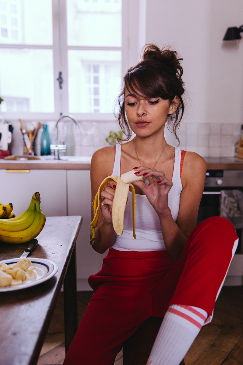 Bienfaits de la banane, fruits bonne santé régime femmes enceintes sportifs enfants croissance AIB