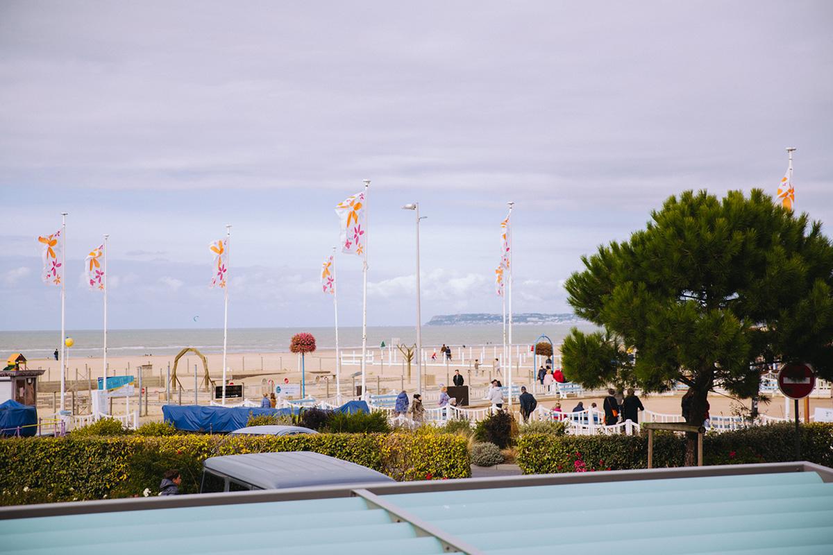 Cures Marines Trouville Mgallery by sofitel hôtel bord de plage bord de mer Deauville test blogueuse parisienne Paris